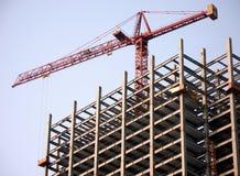 hög stigning för konstruktion royaltyfri fotografi
