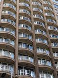 hög stigning för lägenhetbalkonger arkivfoto