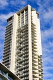 hög stigning för lägenheter fotografering för bildbyråer