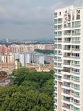 hög stigning för lägenheter arkivbilder