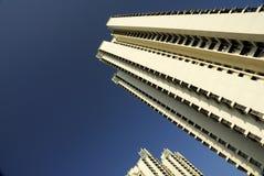 hög stigning för lägenheter Arkivfoton
