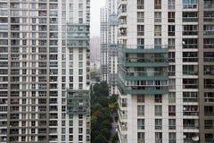 hög stigning för lägenheter royaltyfri bild