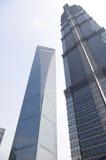 hög stigning shanghai Arkivbilder