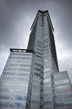 hög stigning vancouver för byggnader i city arkivfoto
