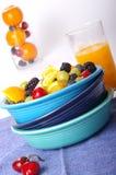 hög tangent för frukt arkivfoto