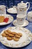 hög tea Arkivfoto