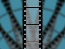 hög upplösning för 3 35mm filmram royaltyfri illustrationer