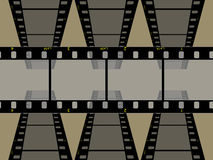 hög upplösning för 3 35mm filmram vektor illustrationer