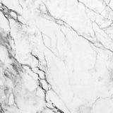 Hög upplösning för vit marmortexturbakgrund Arkivfoto
