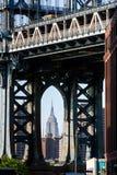 Hög upplösningssikt av New York City - USA arkivbilder