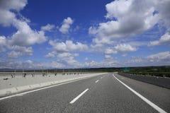 Hög-väg Arkivbild