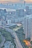 hög väg för tko från lamtenn hk Arkivbilder