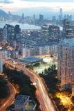 hög väg för tko från lamtenn hk Royaltyfria Bilder