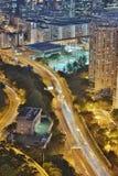 hög väg för tko från lamtenn hk Royaltyfria Foton