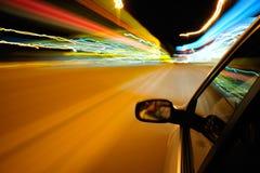 hög väghastighet Arkivbilder