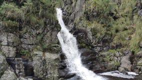 hög vattenfall arkivbild