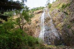 Hög vattenfall i Thailand Royaltyfria Foton