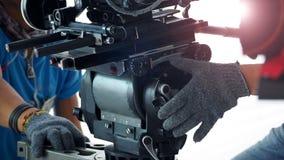 hög videokameraskytte för definition 4K Royaltyfri Fotografi