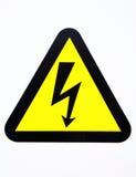 hög volt för alarm Arkivfoto