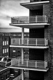 Hög volymetrisk arkitektur Arkivfoton