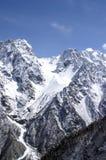 höga berg royaltyfria foton