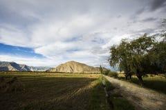 höga berg för höjd Fotografering för Bildbyråer