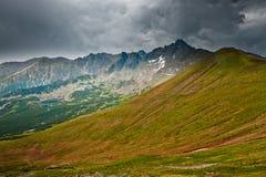 Höga berg, Polen Arkivfoto