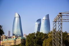 höga byggnader fotografering för bildbyråer