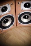 höga högtalare för fi Arkivbild