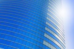 höga moderna skyskrapor Arkivfoto