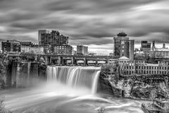 Höga nedgångar i Rochester, New York Fotografering för Bildbyråer
