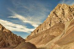 Höga Rocky Mountains Arkivbilder