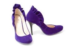höga skor för häl Arkivfoto