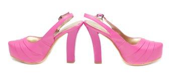 höga skor för häl Royaltyfri Foto