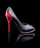 höga skor för häl Arkivfoton