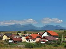 höga slovakia tatras Royaltyfri Fotografi