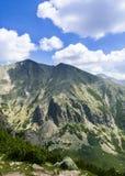 Höga Tatras, mounines, Slovakien Arkivfoton