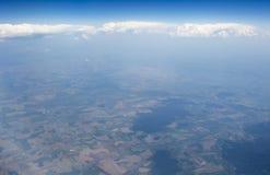 Höga upplösningsbilder av clounds och blå himmel Arkivfoto