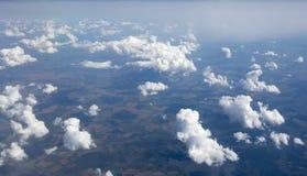 Höga upplösningsbilder av clounds och blå himmel Royaltyfri Fotografi