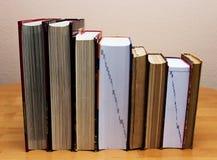 Högar av bokar royaltyfria bilder