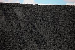 Högar av kol arkivfoto