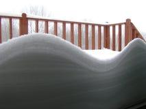 Högar av snö Royaltyfria Bilder
