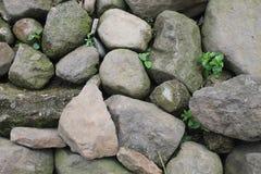 Högar av stenar Arkivfoton