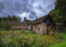 Högar Watermill Arkivbild