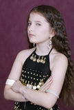 högdraget trevligt för flicka Royaltyfria Foton