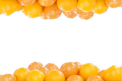 Högen av apelsiner Royaltyfria Foton