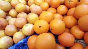 Högen av den stora apelsinen, roterar rörelse lager videofilmer