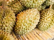 Högen av durianen Royaltyfria Foton
