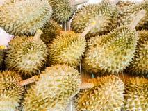 Högen av durianen Fotografering för Bildbyråer