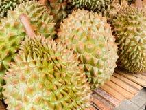 Högen av durianen Arkivbild